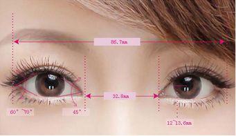 开眼角与不开眼角差距有多少呢?