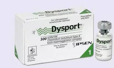 Dysport麗舒妥—新型肉毒桿菌