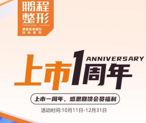 深圳鹏程上市一周年,感恩回馈会员福利980元特享卡(七选四)