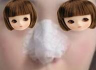 隆鼻自述:這個自拍,鼻子高挺可以溢出屏幕了