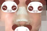 清秀的长相,搭配隆鼻后的鼻子,碰撞的火花激烈